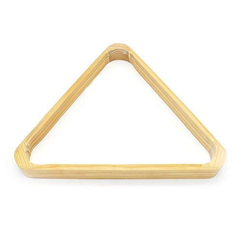 feiledi Trade Triangle Ball Rack, Billard 8 Ball Triangle Rack, Billard/Pool 8-Ball Rack, Hartholz Dreieck -