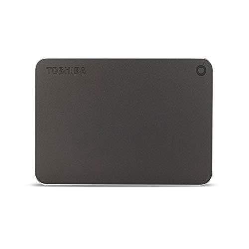 Toshiba Canvio Premium Externe Festplatte 4000 GB Grau - Externe Festplatten (4000 GB, 2.5 Zoll, 3.0 (3.1 Gen 1), Grau)