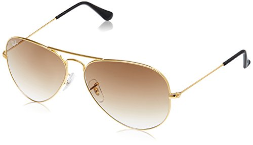 Ray-Ban Aviator Sunglasses (Gold) (RB3025|001/51|58)