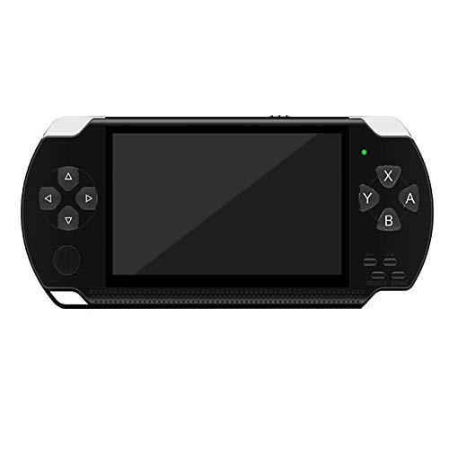 SU Kinder Erwachsene PSP Spielmaschine Spielzeug 4,3 Zoll 32 Bit 8 GB Arcade Spieler mp5,Black