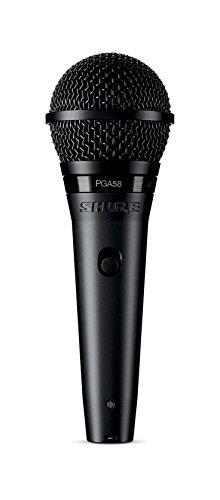 Dynamisches Sprach-/Gesangsmikrofon Shure PGA58 mit Nierencharakteristik, inkl.