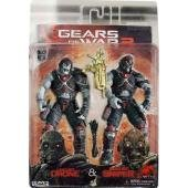 Neca - Double Pack Gears of War 18cm : Locuste Done & Sniper - 0634482521106