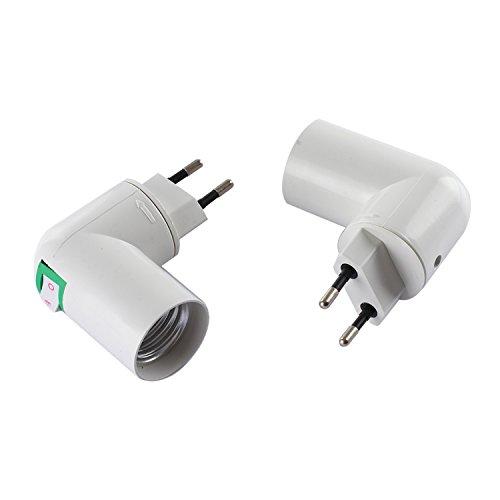 tinxi® E27 support de lampe douille de lampe douille de fixation douille de base