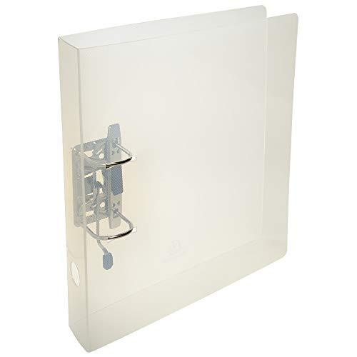 Exacompta 53642E Crystal Ordner (mit Rücken 50mm, Aussenformat 32 x 29 cm, robust und praktisch) kristall transparent