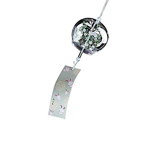 lität Kreative Japanische Handgemachte Glasmalerei und Windspiele Tür Dekoration Geschenk für Mädchen Stil 6 ()