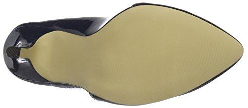 Loafer Basic Bianco Pumps Blue 24 30 Pump Damen Navy Blau 48562 xBq5qwER