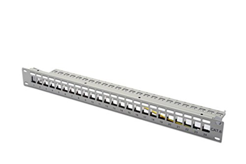 Modulare Panel (Digitus DN-91410 Modular Patch Panel (24-Port))