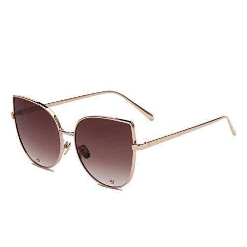 Tansle Damen Sonnenbrille, Braun