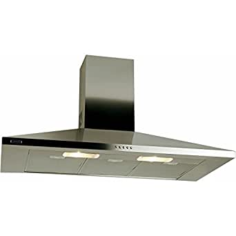 Leisure H101PX 100cm Chimney Cooker Hood Stainless Steel