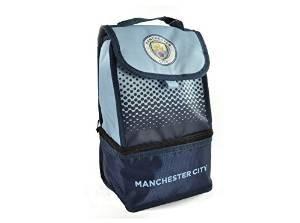 Manchester Man City FC club de football déjeuner boîte bleue sac officiel