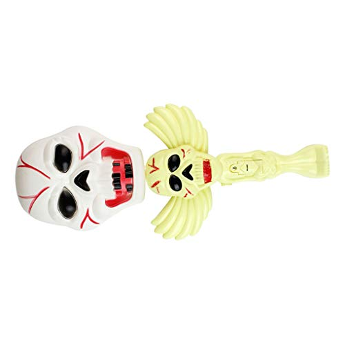 Ben-gi Halloween-Party-Dekoration Rütteln Stock-Schläger Kürbis-Hexe-Geist-Schreien glühende Wand Kinderspielzeug -
