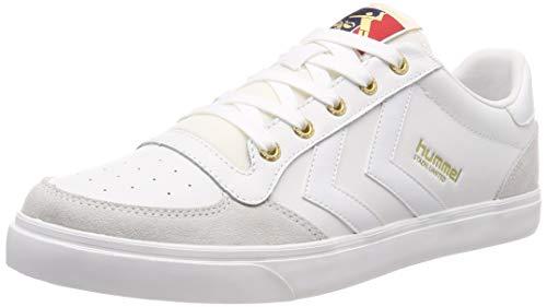 Hummel Unisex-Erwachsene Stadil Low Sneaker Weiß (White 9001) 42 EU