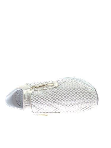 Igi&Co , Baskets pour femme blanc/or