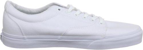 Vans Kress, Baskets mode homme Blanc (True White/White)