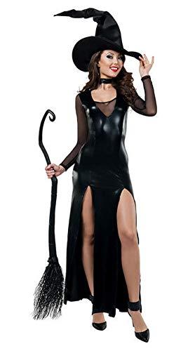 XSQR Damen Sexy Kombiniertes Kleid In Lederoptik Halloween Cat Suit (Halloween Kleid Für Cat)