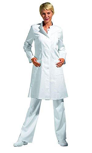 Damen-Kittel Berufsmantel 5790 weiß, Weiß, S (White Doctor's Mantel Kostüm)
