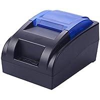 FENGT Impresora Térmica De Recibos HS-58HU / 58 Mm Mini Portátil USB Impresora De Facturas Personal Bluetooth Inalámbrico Compatible con iOS Android Windows Negro