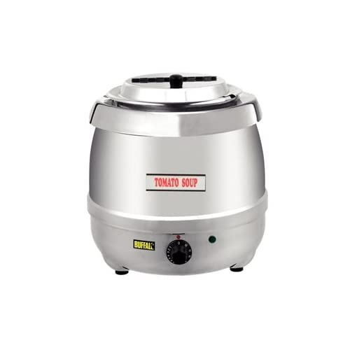 Buffalo L714 Buffalo Soup Kettle, Stainless Steel, 10 L