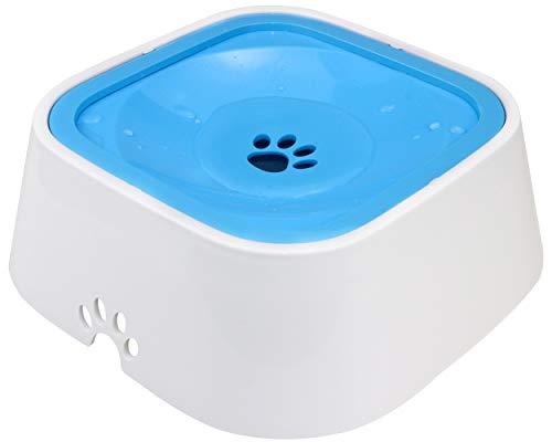 Joytale Auslaufsicherer Wassernapf für Haustiere, rutschfest Hund und Katze Wasserschale,1500ML,Blau