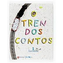 Lecturas: O tren dos contos. 1 Primaria. Proxecto Trampolín - 9788467517200