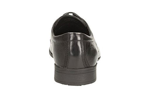 Clarks , Chaussures de ville à lacets pour homme Noir noir Noir - noir