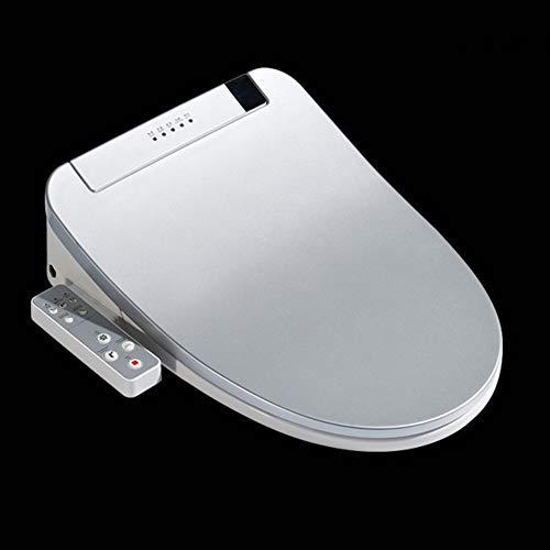 YSM WC-Sitz Bidet WC-Sitz Smart-Toilettensitzabdeckung Elektronische Bidet-Abdeckung Saubere Trockensitzheizung Wc Gold-Intelligent LED-Licht Toilette,D -
