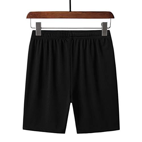 Kostüm Klimaanlage - Nach Hause Hose Jogginghose Herren Handsome Leisure Fashion Klimaanlage Schweißabsorption Kurze Hosen Schwarz XL