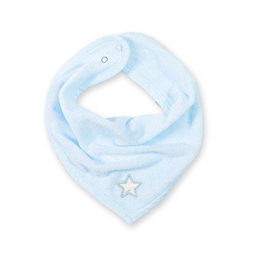 Bemini by Baby Boum 355STARY61TU Bandana Lätzchen Terry Stary Frost, 25 cm, blau