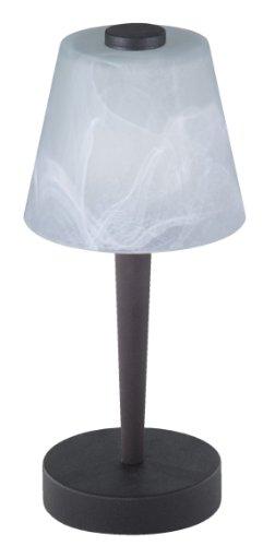 Trio 591510224 Serie 5915 - Lámpara de sobremesa con 2 luces, bombillas...