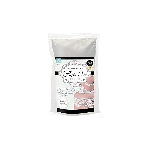 Squires Kitchen High Performance Flexi-Ice 250g Instant Mix Black