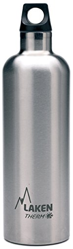 "Laken Borraccia termica ""Futura Thermo"" 0,75l TE7, Argento (Plain),"