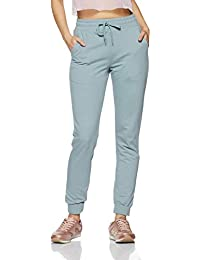 Amazon Brand - Symbol Women's Tapered Jogger Stretchable Casual Trousers