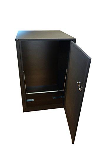 Mülltonnenbox, Müllbehälterverkleidung, Mülleimerverkleidung, Müllbox, Lendobox, - 3