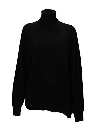 Maison Margiela Damen S51ha0938s16881900 Schwarz Wolle Sweater