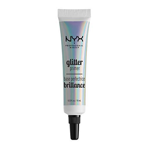 NYX Professional Makeup Glitter Primer, Fissante per Glitter, Gel per Glitter liberi, Ombretto e pigmenti, Lunga tenuta