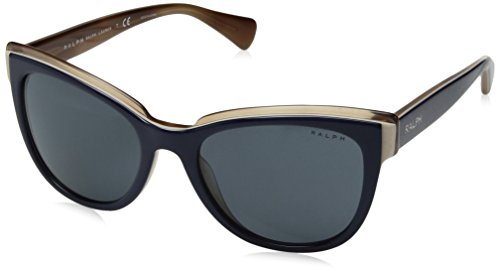 Ray-Ban Damen 0ra5230 Sonnenbrille, Navy Horn/Darkgreysolid, 53