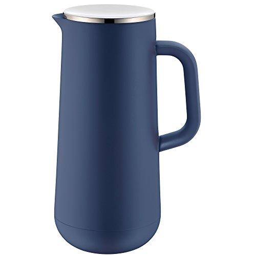WMF Isolierkanne Thermoskanne Impulse prussian, 1,0 l, für Kaffee oder Tee Drehverschluss hält...