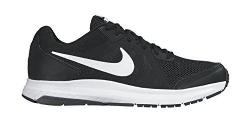 Nike Dart 11, Chaussures de Running Compétition Homme Noir (Black/White-Dark Grey-White 001)