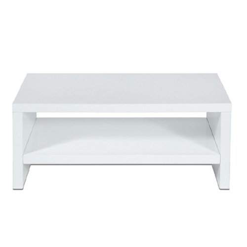 Levv TV900WHG High Gloss Tv Stand for up to 42 inch Screens - White