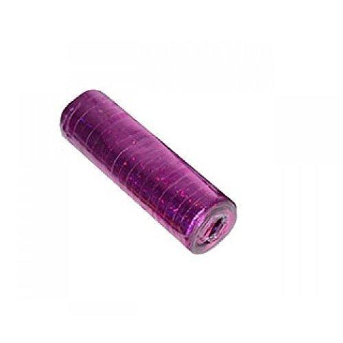 Lively Moments Luftschlangen metallig farben / Holographisch / Papierschlangen in der Farbe metallic pink