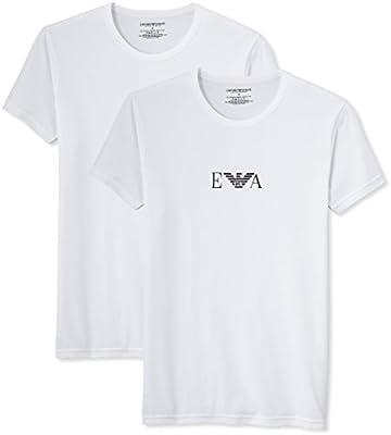 Emporio Armani Men'S Knit Brief B - Camiseta para hombre