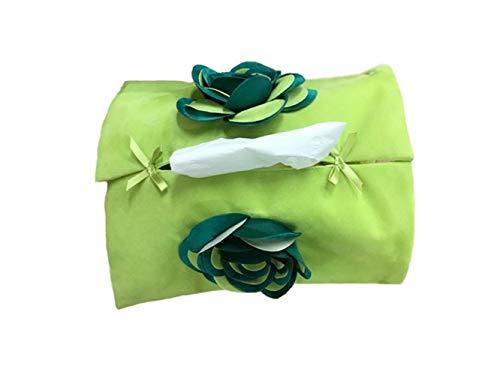 Weinregal-Aufbewahrungshalter Kreative Papiertaschentuchbox aus Papier mit Blume für Zuhause...