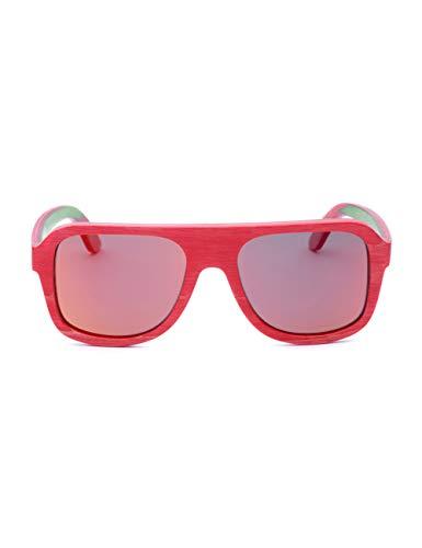 HNPYY Sonnenbrillen Quadratische Sonnenbrille Männer Brown Eyewear Brille Männer Polarisierte Mann Sonnenbrille Fall Mens Sonnenbrille, A -