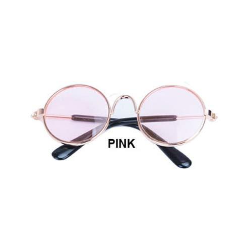 Seturrip - Haustier-Katzen-Brille Hund Gläser Haustier-Produkte für kleine Hunde Cat Eye-wear Hundesonnenbrillen Fotos Props Zubehör Pet Supplies [Typ2 10pcs]