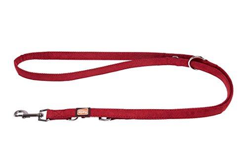 karlie-flamingo-70555-suave-laisse-pour-chien-200-cm-x-25-mm-rouge