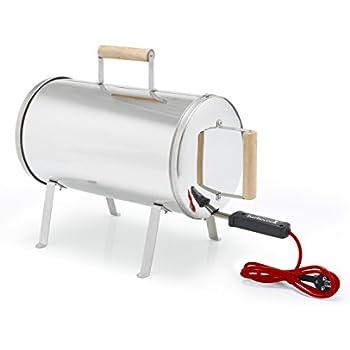 Barbecook 2239812000 affumicatoio otto grigio for Affumicatore portatile