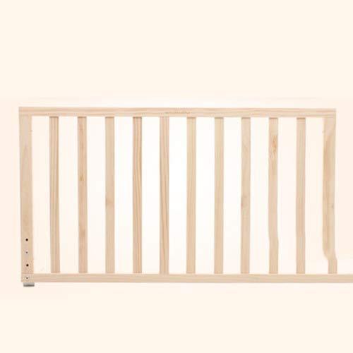 FLB Cama de bebé Madera Valla niños Cama Marco Dormitorio Muebles Seguridad Cuna barandilla bebé Romper-Resistente Valla Cama Grande 1.8-2 m bafle,90cm