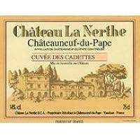 CHÂTEAU LA NERTHE Les Cadettes 2001 2001, Châteauneuf du Pape