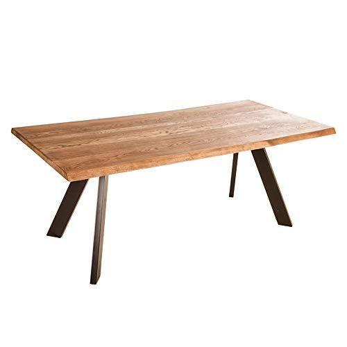 meilleurs prix chercher nouvelle arrivee Table chêne pied métal