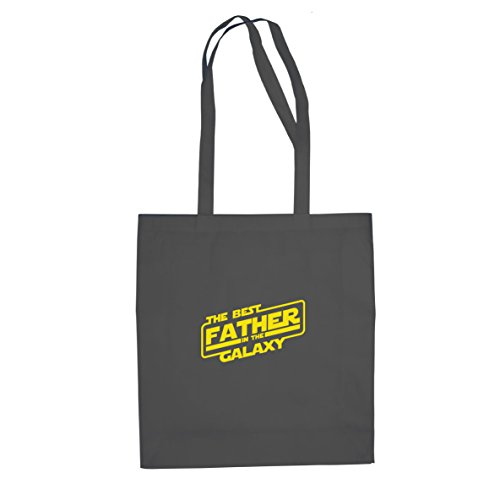 SW: Best Father - Stofftasche/Beutel, Farbe: grau